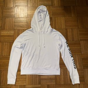 Garage White hoodie